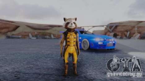 Marvel Future Fight - Rocket Raccon для GTA San Andreas второй скриншот