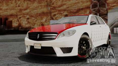 GTA 5 Benefactor Schafter V12 Arm IVF для GTA San Andreas