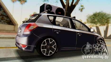Kia Ceed Stance AirQuick для GTA San Andreas вид слева