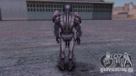Marvel Future Fight - Ultron для GTA San Andreas третий скриншот