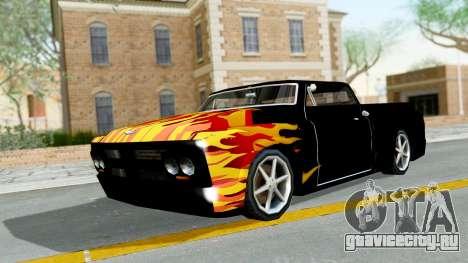 Blade New PJ для GTA San Andreas вид слева