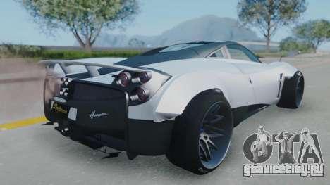Pagani Huayra LB Performance для GTA San Andreas вид слева