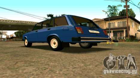 ВАЗ 2104 для GTA San Andreas вид сзади
