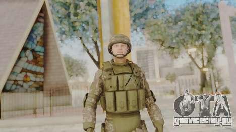 US Army Urban Soldier from Alpha Protocol для GTA San Andreas