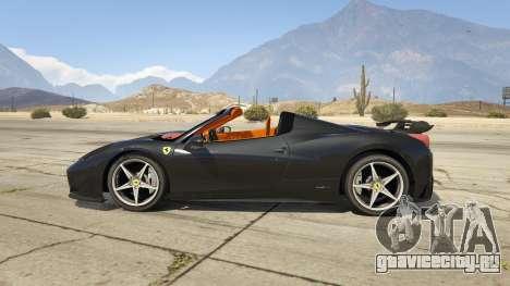 Ferrari 458 Mansory Siracusa Monaco Edition для GTA 5