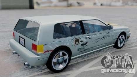 Flash F&F3 Silvia PJ для GTA San Andreas вид слева