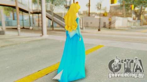 Sleep Beauty Aurora для GTA San Andreas третий скриншот