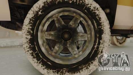 GTA 4 Declasse Rancher IVF для GTA San Andreas вид сзади слева