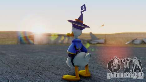 Kingdom Hearts 1 Donald Duck Disney Castle для GTA San Andreas третий скриншот