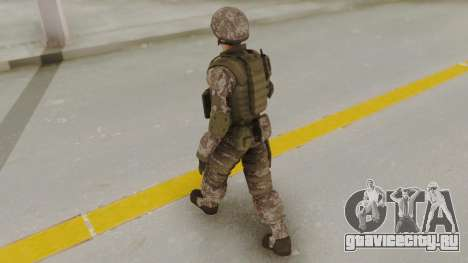 US Army Urban Soldier from Alpha Protocol для GTA San Andreas третий скриншот