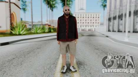 Hunter Costume Michael для GTA San Andreas второй скриншот