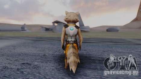 Marvel Future Fight - Rocket Raccon для GTA San Andreas третий скриншот