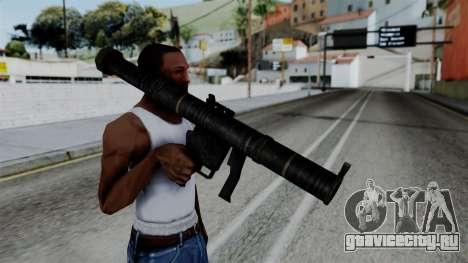 CoD Black Ops 2 - SMAW для GTA San Andreas третий скриншот