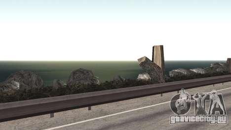 Ремонт дороги Los Santos - Las Venturas для GTA San Andreas десятый скриншот