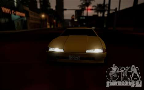 Elegy Speedhunters для GTA San Andreas вид снизу