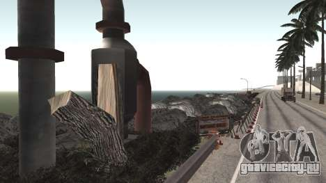 Ремонт дороги Los Santos - Las Venturas для GTA San Andreas третий скриншот