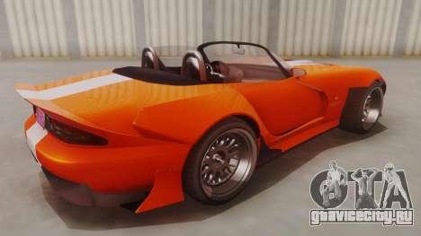 GTA 5 Bravado Banshee 900R для GTA San Andreas вид сзади слева