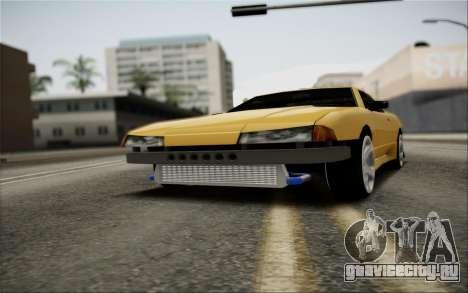 Elegy Speedhunters для GTA San Andreas вид сверху