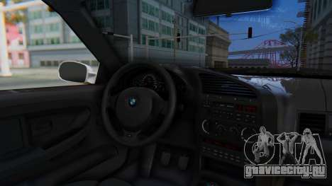 BMW 320i E36 MPower для GTA San Andreas вид сзади