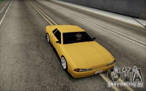 Elegy Speedhunters для GTA San Andreas вид сзади слева