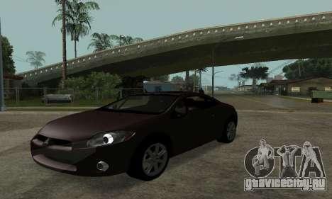 Mitsubishi Eclipse GT для GTA San Andreas вид справа