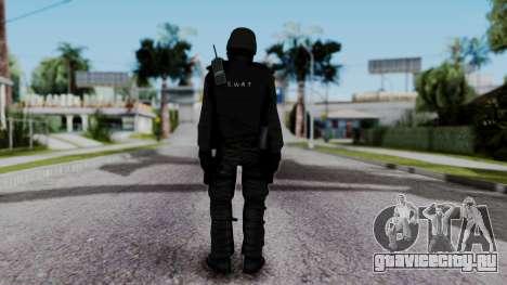 Black SWAT для GTA San Andreas третий скриншот