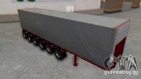 Trailer Colis Red для GTA San Andreas