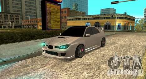 Subaru Impreza WRX STi 2007 для GTA San Andreas