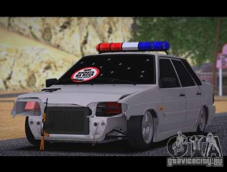 ВАЗ 2115 Бродяга для GTA San Andreas вид слева