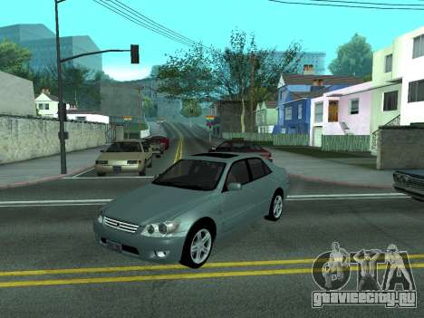 Toyota Altezza Tunable для GTA San Andreas