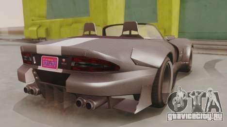 GTA 5 Bravado Banshee 900R Carbon для GTA San Andreas вид слева