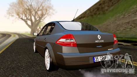 Renault Megane CPJ для GTA San Andreas вид слева