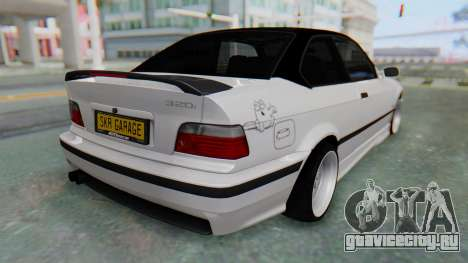 BMW 320i E36 MPower для GTA San Andreas вид слева