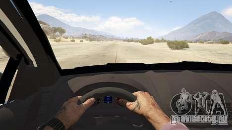 Unmarked Chevrolet Caprice для GTA 5 вид сзади