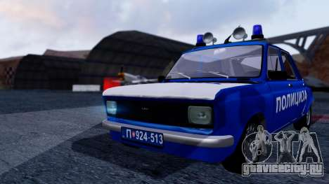 Zastava 101 Policija для GTA San Andreas