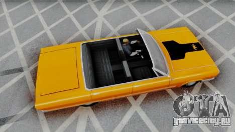 Savanna 2F2F Challenger PJ для GTA San Andreas вид слева