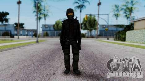 Black SWAT для GTA San Andreas второй скриншот
