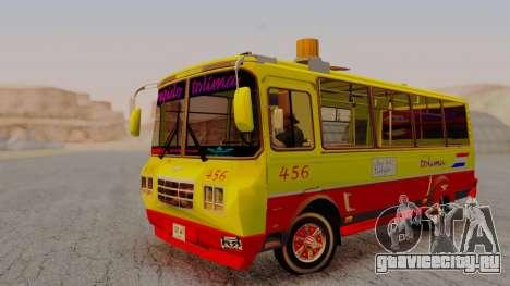 PAZ 3205 Stylo Colombia для GTA San Andreas