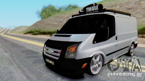 Ford Transit 2007 Model AirTran для GTA San Andreas