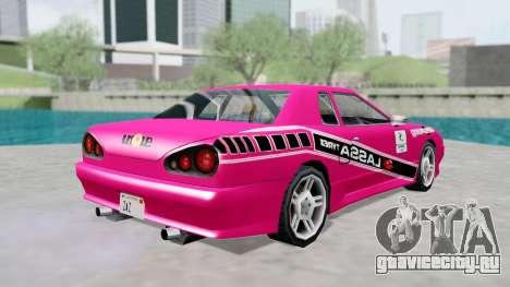 Elegy 4 Drift Drivers V2.0 для GTA San Andreas вид справа