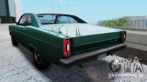 Ford Fairlane 500 1967 v1.1 для GTA San Andreas вид слева