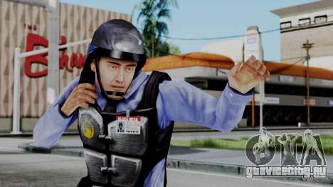 Barney Calhoun from Half Life Blue Shift для GTA San Andreas