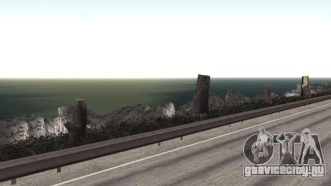 Ремонт дороги Los Santos - Las Venturas для GTA San Andreas девятый скриншот