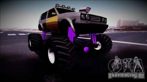 Club Monster Truck для GTA San Andreas