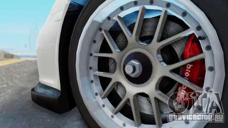 Porsche 911 GT3 Cup для GTA San Andreas вид справа