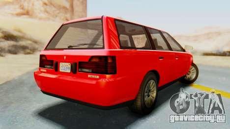 GTA 5 Vulcar Ingot IVF для GTA San Andreas вид слева