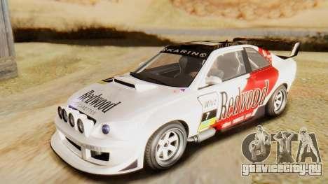 GTA 5 Karin Sultan RS для GTA San Andreas вид сверху