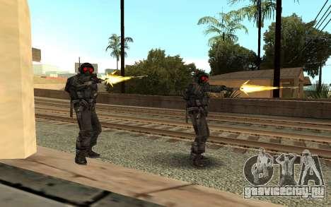 Swat from GTA Criminal Russia для GTA San Andreas второй скриншот