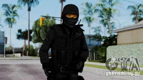 Black SWAT для GTA San Andreas