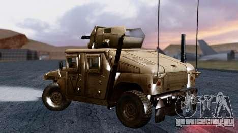 HUMVEE M1114 Desert для GTA San Andreas вид слева